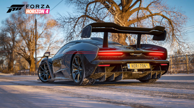 Forza Horizon 4 Senna Rear