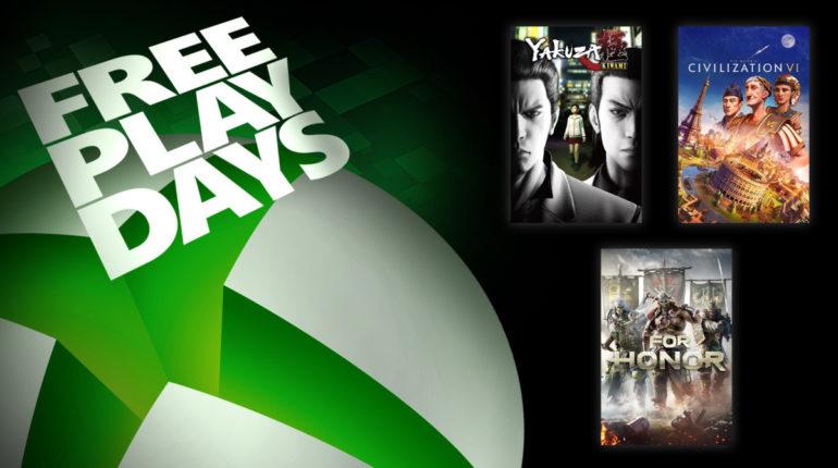 Free Play Days [23 — 27 июля 2020]
