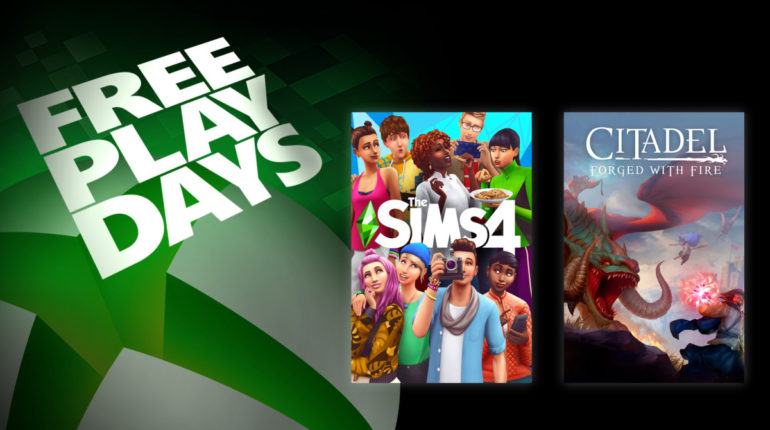 Free Play Days [9 — 13 июля 2020]