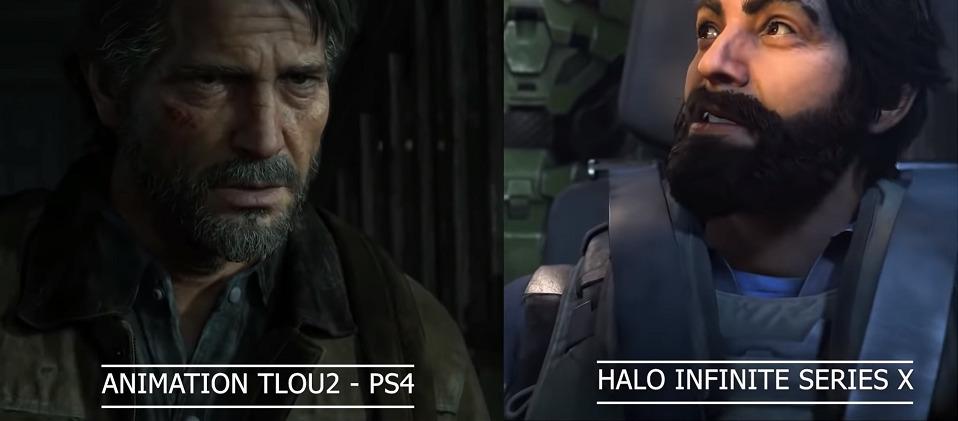 Пользователь сравнил технологии The Last of Us 2 и Halo Infinite