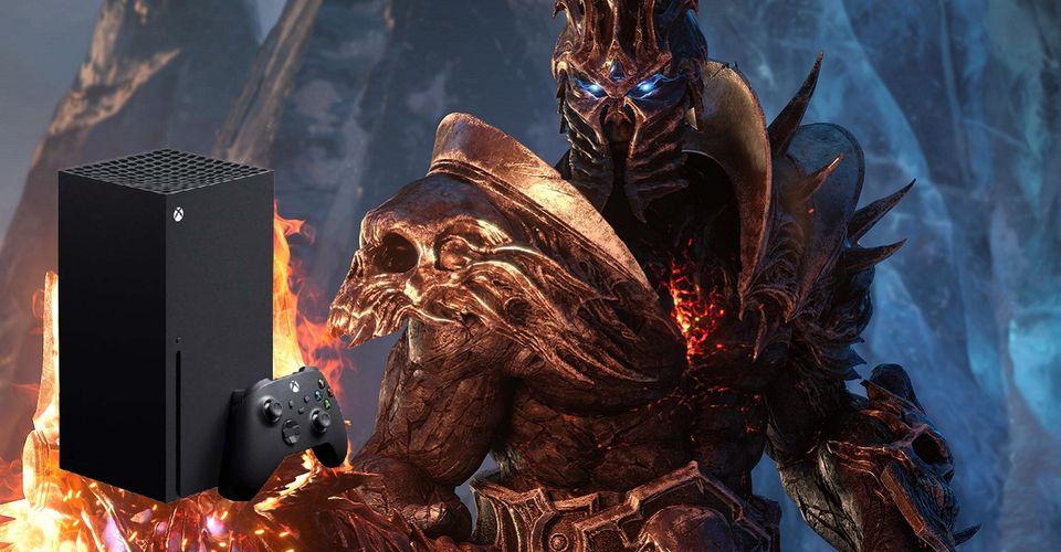 World of Warcraft может выйти на Xbox Series X