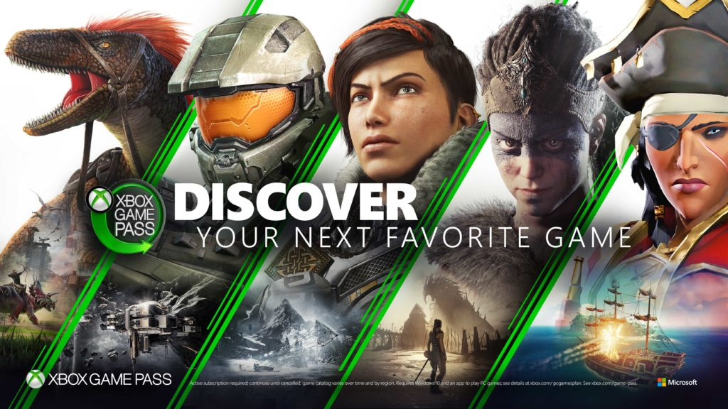 Xbox Game Pass PC General Horizontal Art