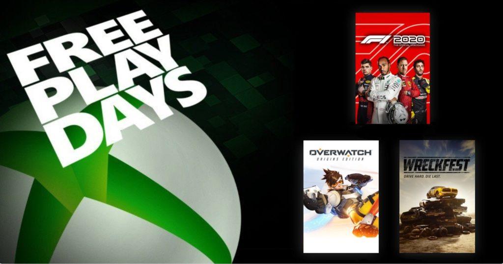 Free Play Days [20 — 24 августа 2020]