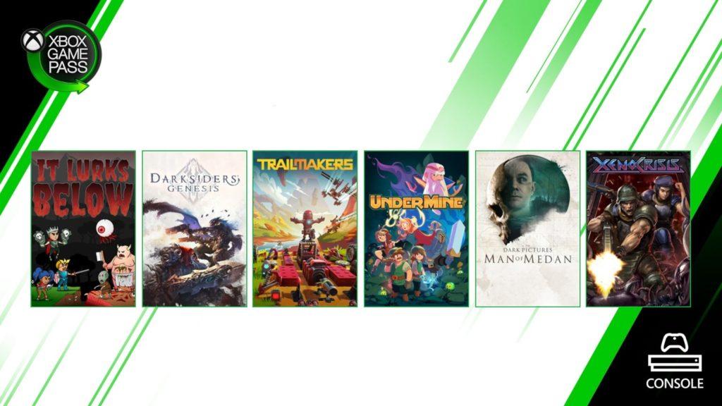 Шесть новых игр в Xbox Game Pass [Август 2020/1]