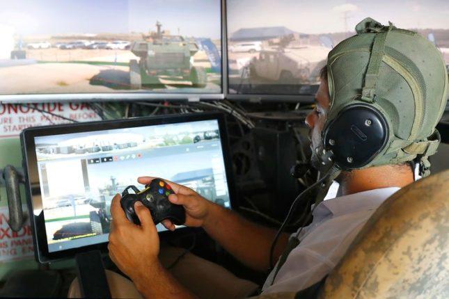 Управлять будущими израильскими боевые машины Carmel будут с помощью Xbox контроллеров