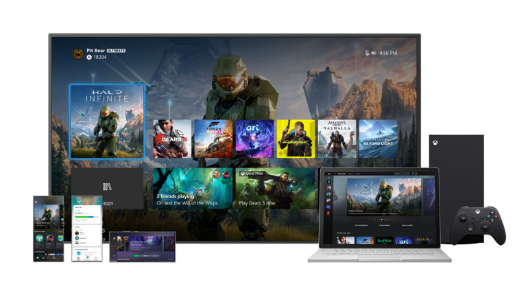 Новый дашборд Xbox Series X
