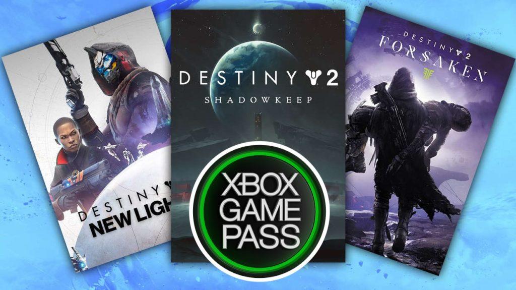 Destiny 2: Forsaken & Shadowkeep в Xbox Game Pass