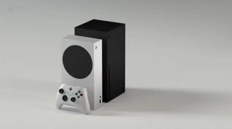 Арт Xbox Series X и Xbox Series S