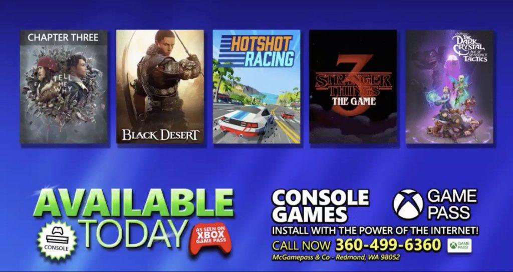 Сюрпризы от Xbox Game Pass [Сентябрь 2020/1]