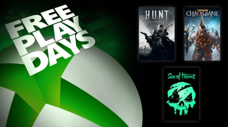 Free Play Days [17 — 21 сентября 2020]