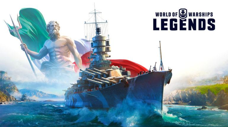 Новый графический движок World of Warships Legend для владельцев Xbox One X