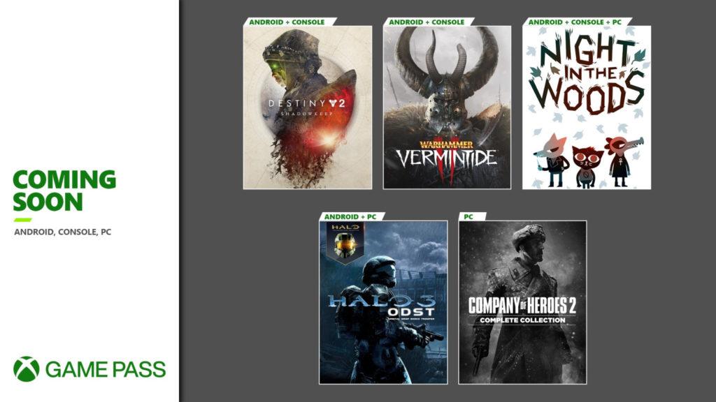 Вторая волна игр сентября для Xbox Game Pass [Сентябрь 2020/2]
