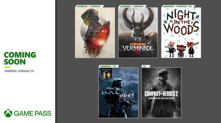 Анонсирована вторая подборка игр сентября 2020 по подписке Xbox Game Pass