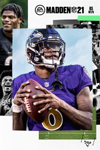 Madden NFL 21 обложка