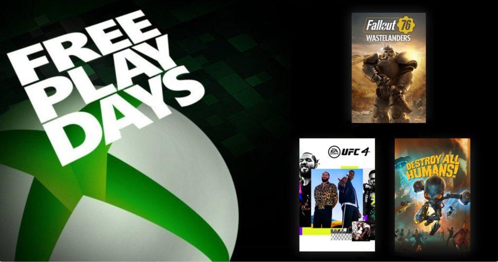 Free Play Days [22 — 26   Октября 2020]
