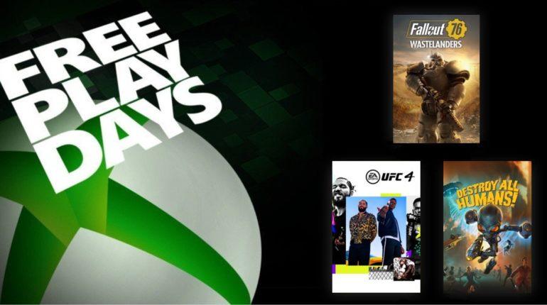 Free Play Days Октябрь 2020