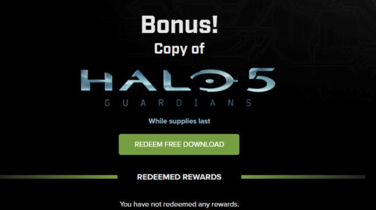 Халявная Halo 5