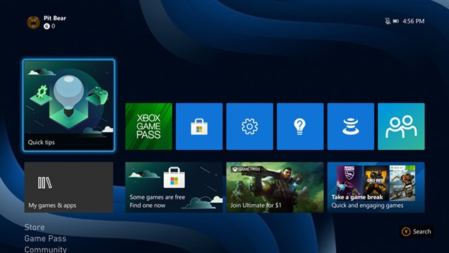 Xbox Update обновление системы