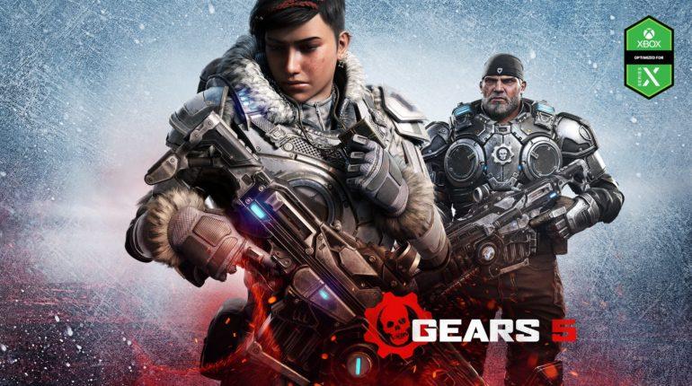 адержка ввода Gears 5 на Xbox Series X сокращена от 30 до 50%