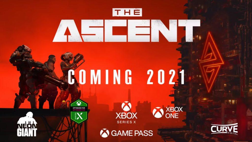 The Ascent отложена на 2021 год
