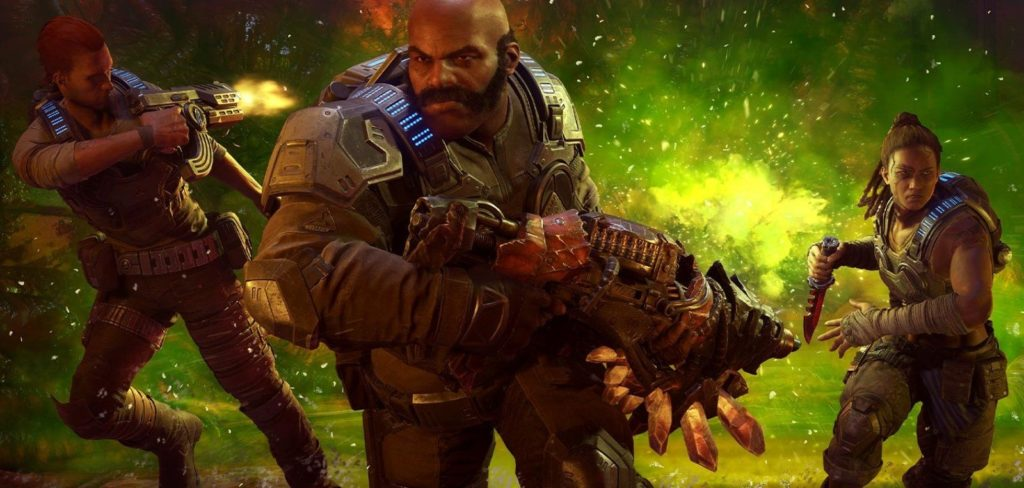 Лучшая версия Gears 5 на Xbox Series X