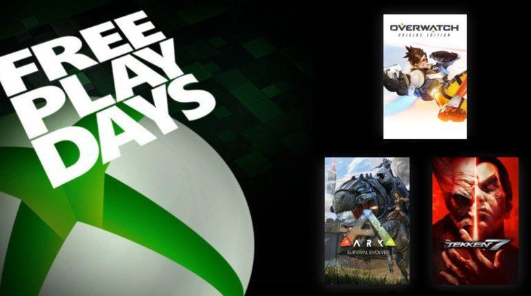 Free Play Days Ноябрь 2020