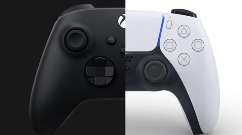 Контроллер Xbox Series X и DualSense