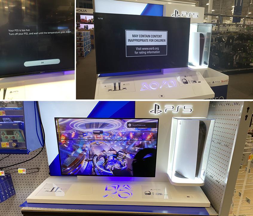 Появились первые фотографии перегретой PlayStation 5