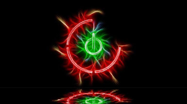 Xbox 360 wallpaper красное кольцо смерти