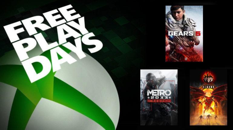Free Play Days декабрь 2020