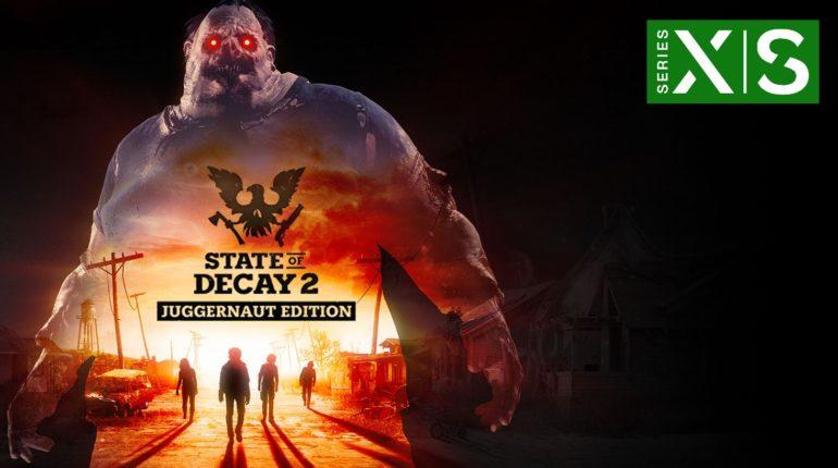 State of Decay 2 улучшена для Xbox Series X|S