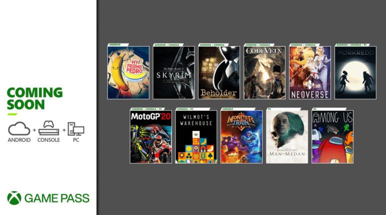 Xbox Game Pass Декабрь 2020/2