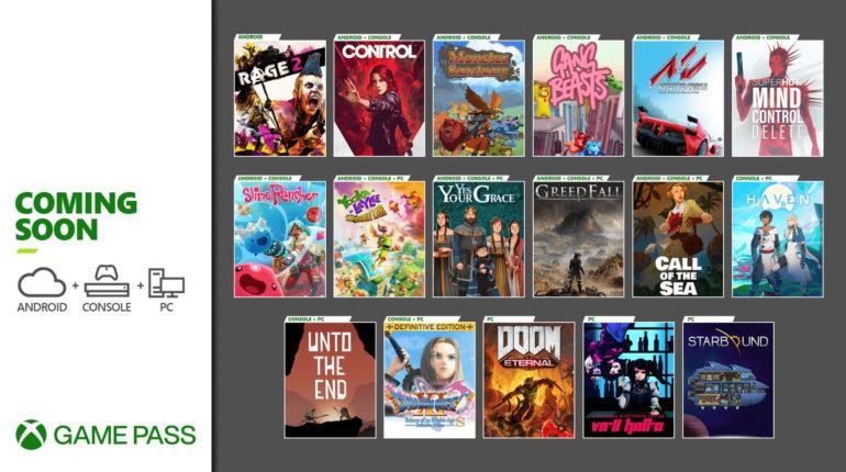 Xbox Game Pass декабрь 2020/1