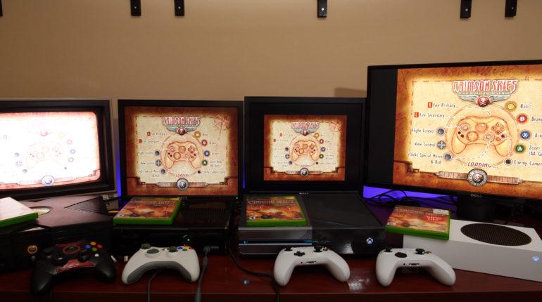 Xbox Series X и Xbox Series S можно использовать со всеми прошлыми Xbox
