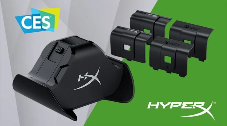 HyperX анонсировала док-станцию для зарядки контроллеров Xbox на выставке CES