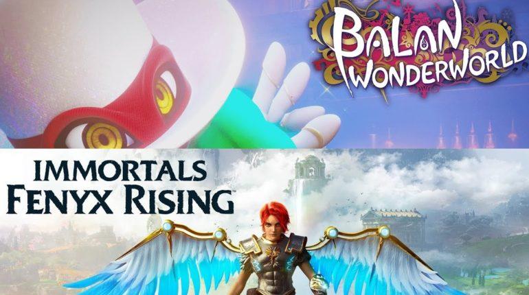 Immortals Fenyx Rising и Balan Wonderworld