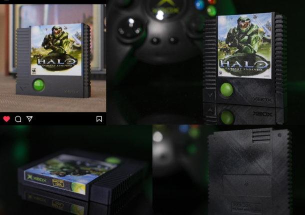 Из концепта в реальную жизнь был напечатан картридж для Xbox