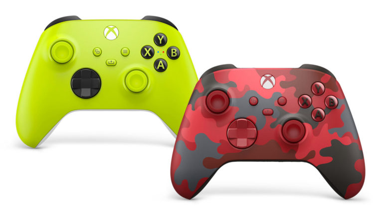 Xbox Series геймпад
