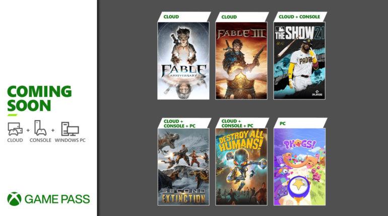 Xbox Game Pass апрель 2021 - 2