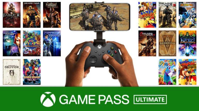 Обртная совместимость xcloud Xbox Game Pass Ultimate