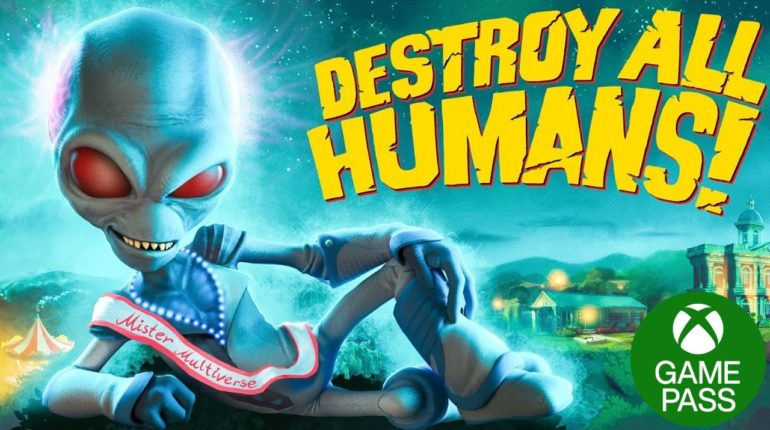 Destroy All Humans! Xbox Game Pass