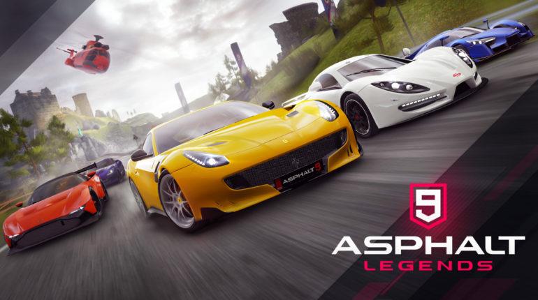 Условно-бесплатная Asphalt 9 Legends выйдет на Xbox One и Xbox Series X|S