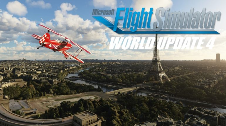 Microsoft Flight Simulator World Update 4