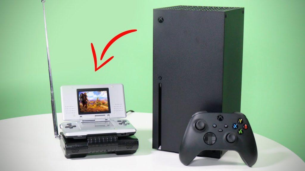 Xbox Series X подключили к Nintendo DS