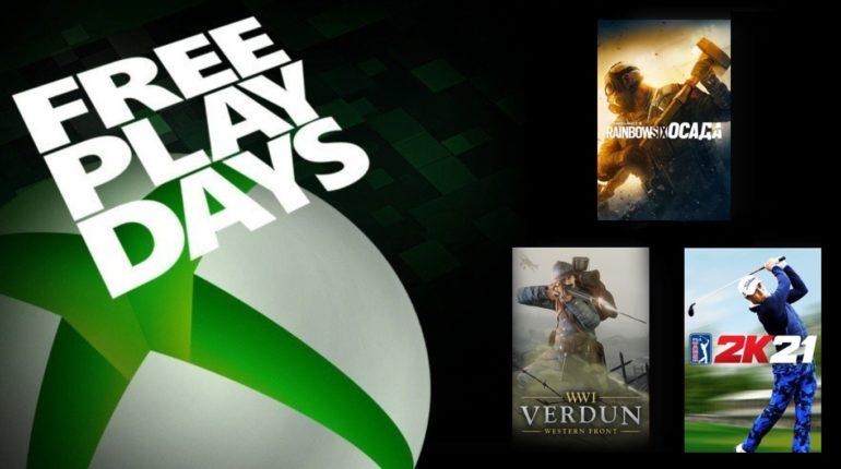 Free Play Days июнь 2021