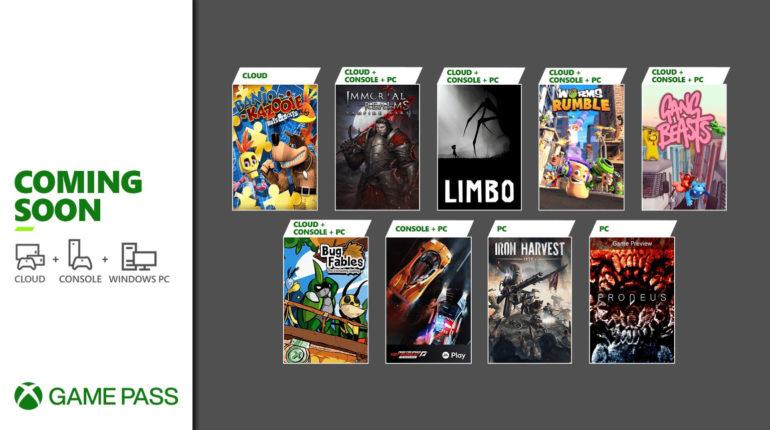 Xbox Game Pass июнь 2021 - 2