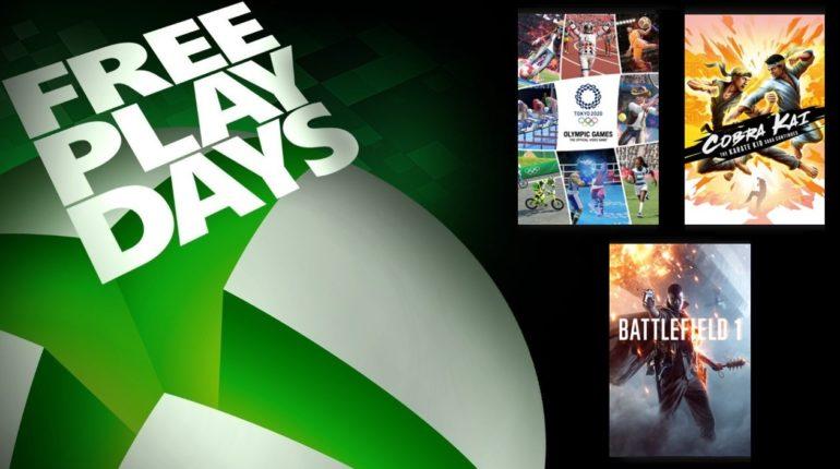 Free Play Days июль 2021