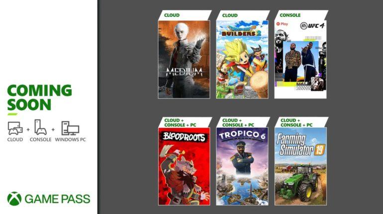 Xbox Game Pass 2021 - июль -1