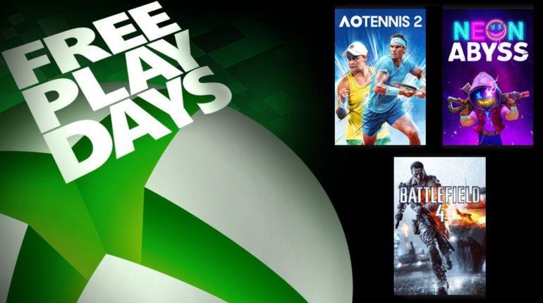 Free Play Days Август 2021