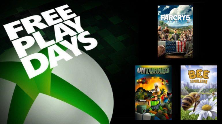 Free Play Days 2021 Август